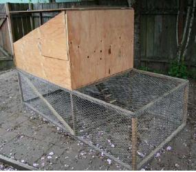 Double Decker Chicken Coop